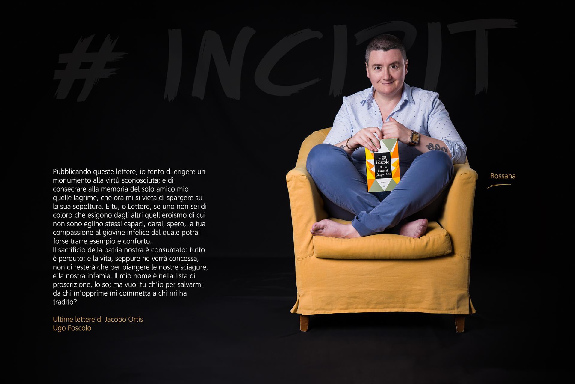 #INCIPIT - Progetto Fotografico di Massimiliano Ferrari - Avv. Rossana Gregorini Fotografata da Massimiliano Ferrari
