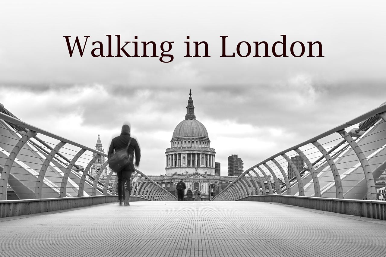 WALKING IN LONDON - ©Fotografia di Massimiliano Ferrari - Brescia